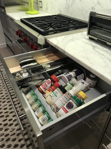 kitchen drawer organization tip